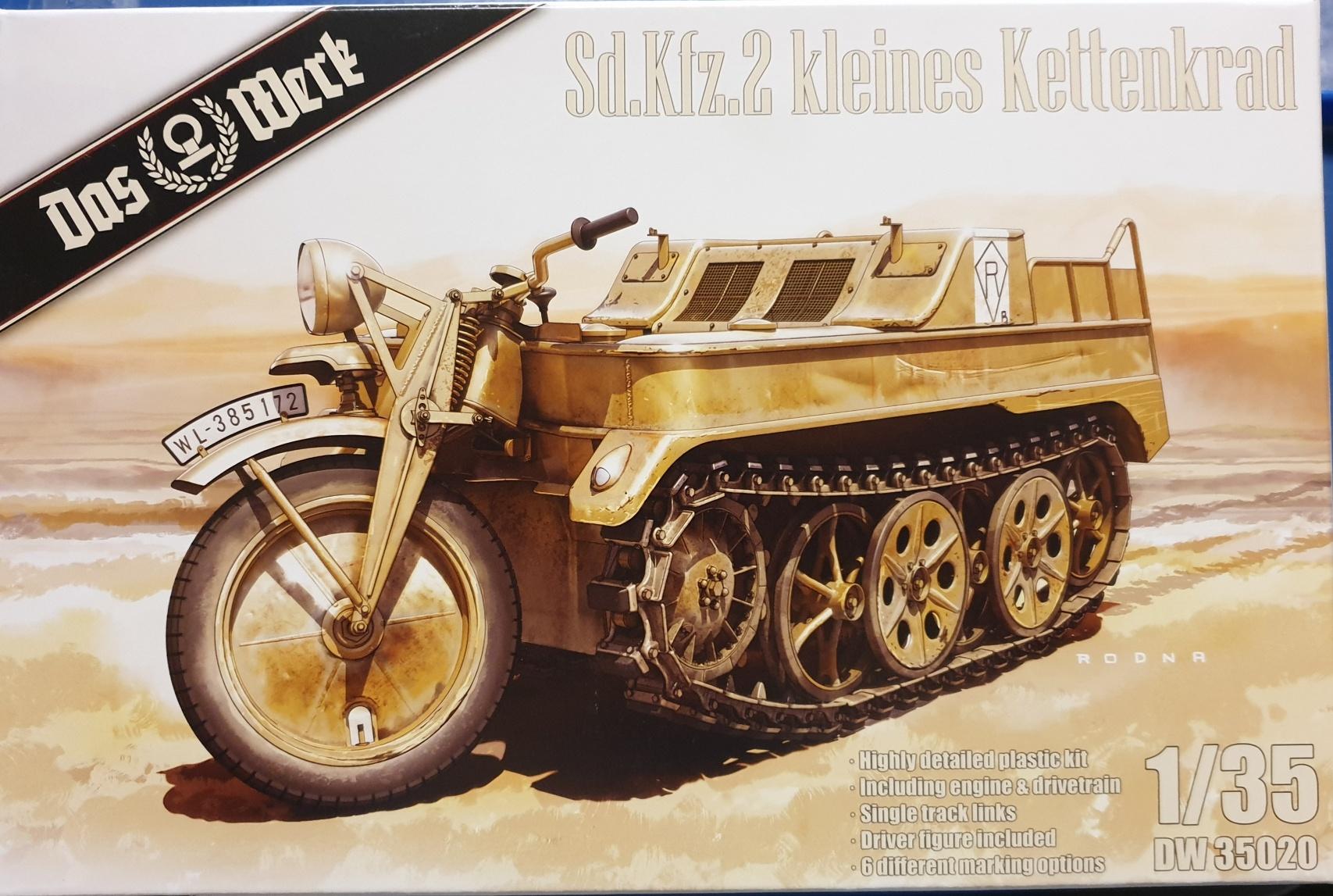 Das Werk DW35020 Sd.Kfz. 2 Kleines Kettenkrad