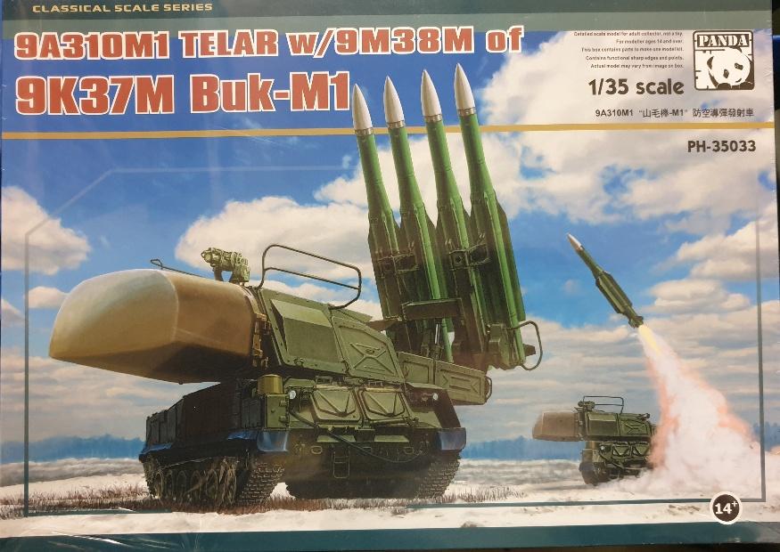 Panda Models PH-35033 9K37M Buk-M1