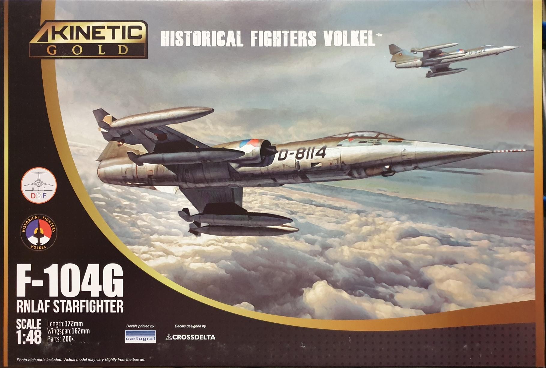 04 Kinetic K48090 F-104G RNLAF Starfighter Volkel