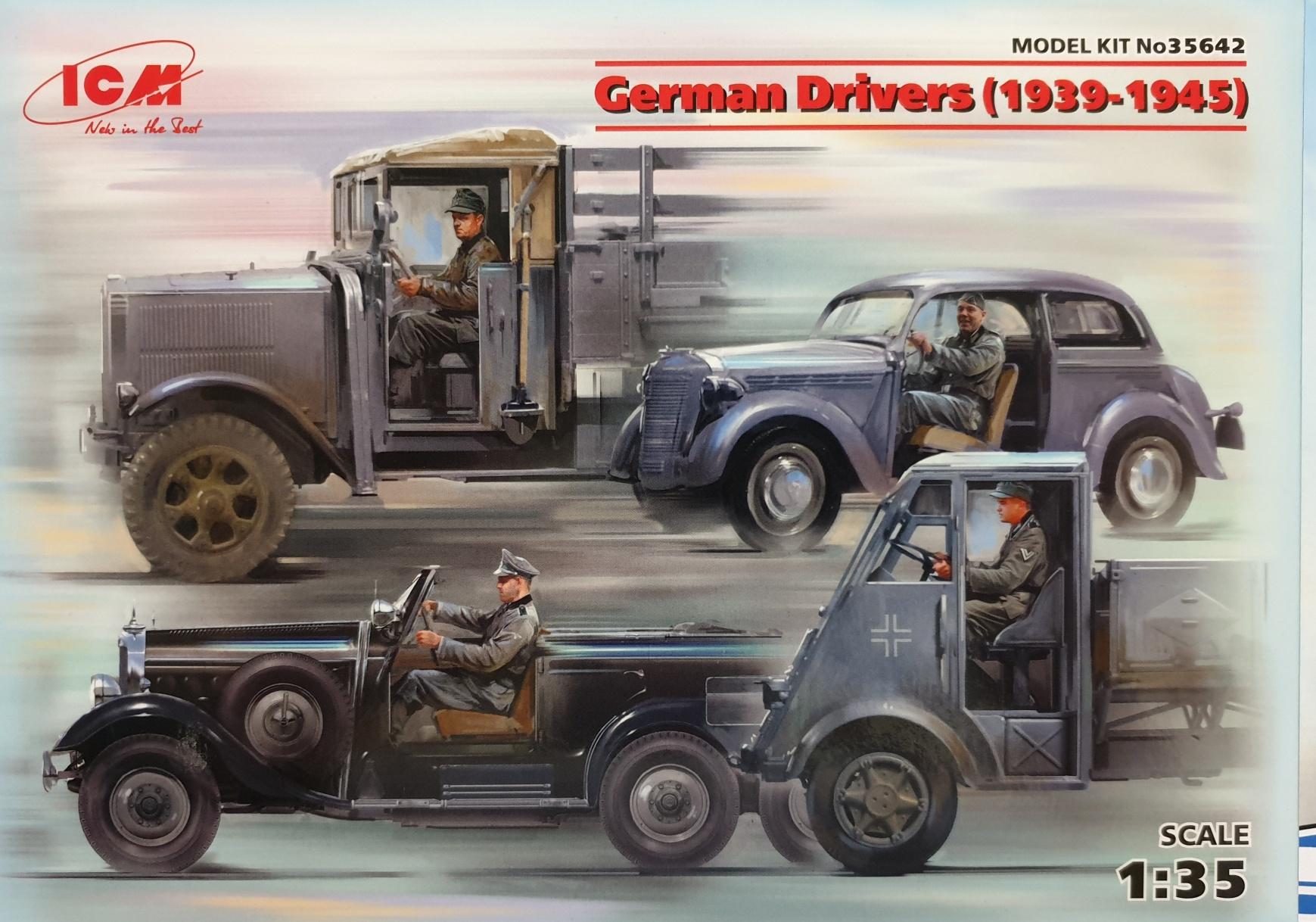 ICM 35642 German Drivers (1939-1945)