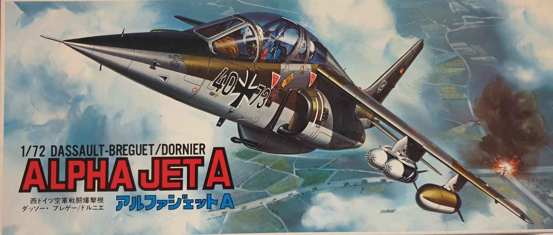 4 Fujimi 5992 Alpha Jet A
