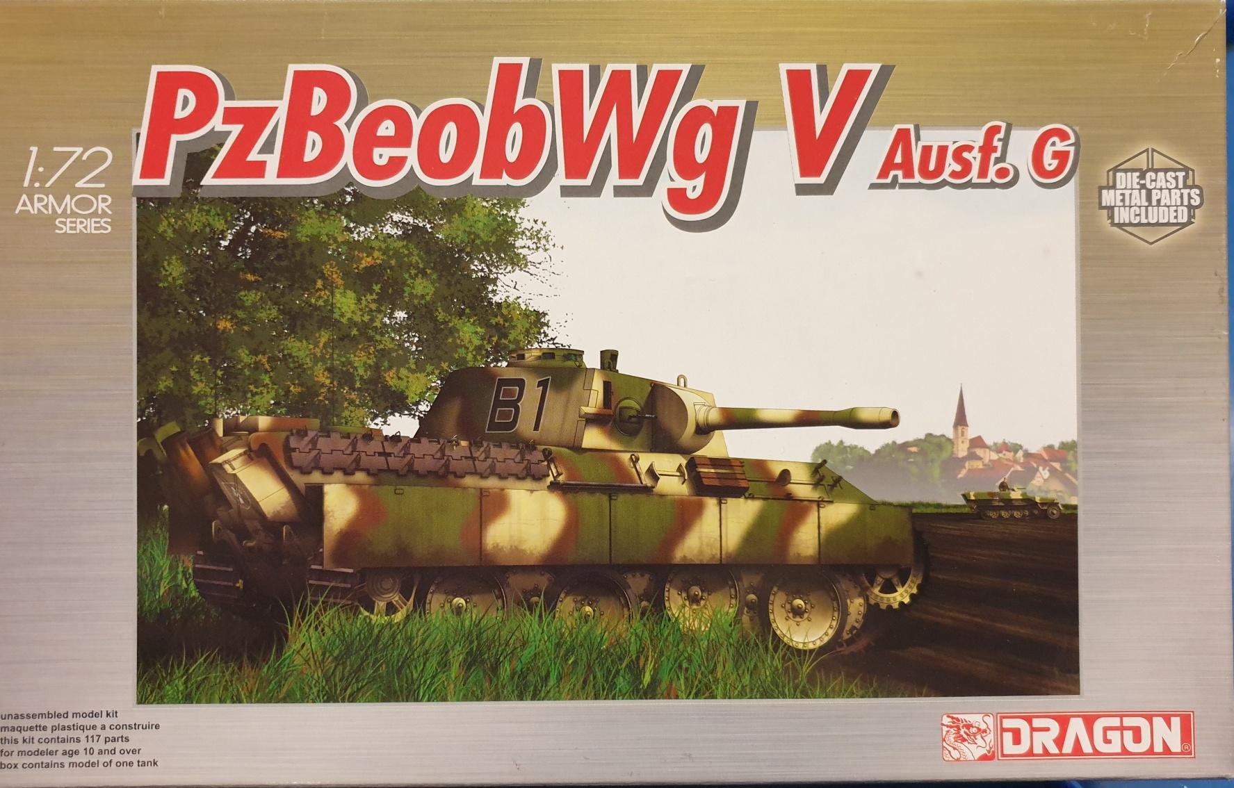 Dragon 7230 PzBeobWg V Ausf. G 1/72
