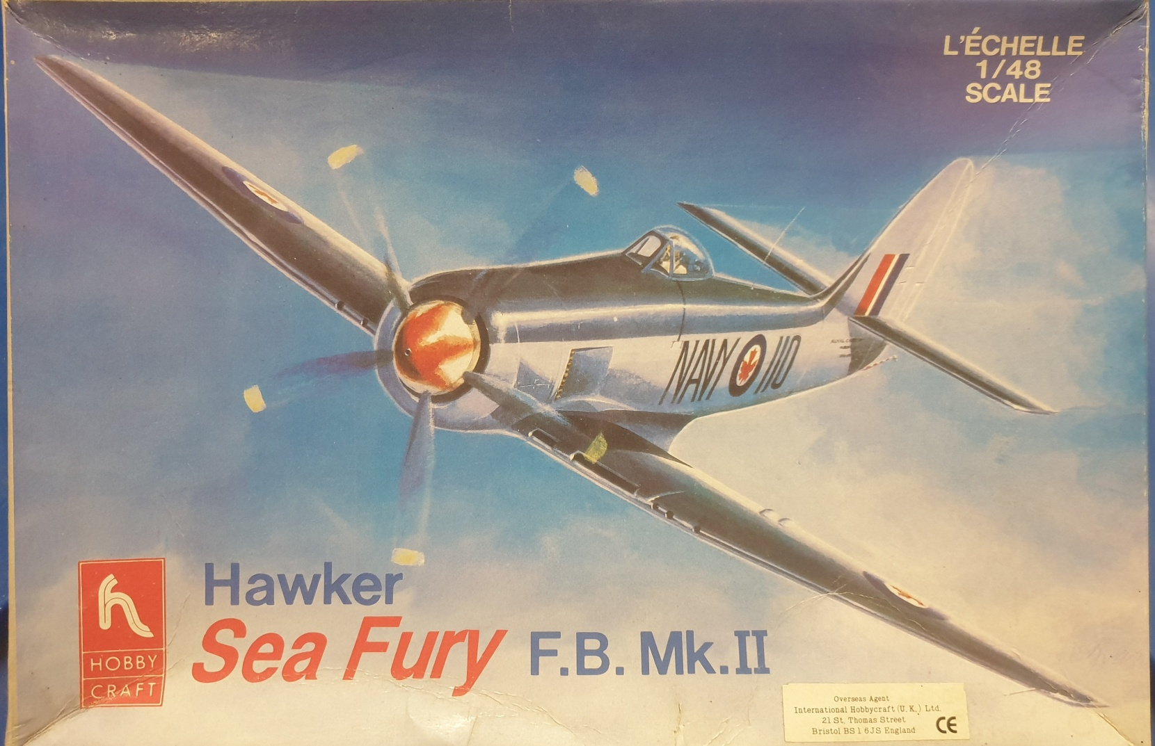 4 Hobby Craft HC1583 Hawker Sea Fury F.B. Mk.II