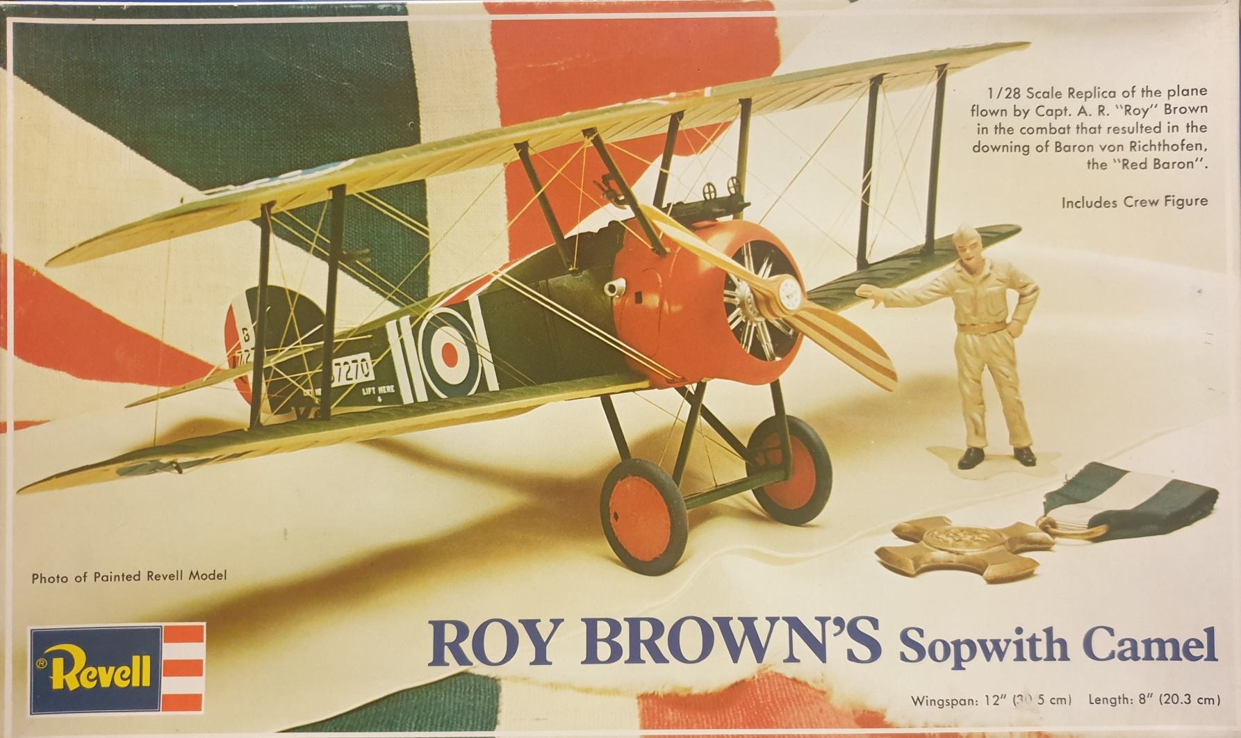 2 Revell H-234 Roy Brown's Sopwith Camel 1/28