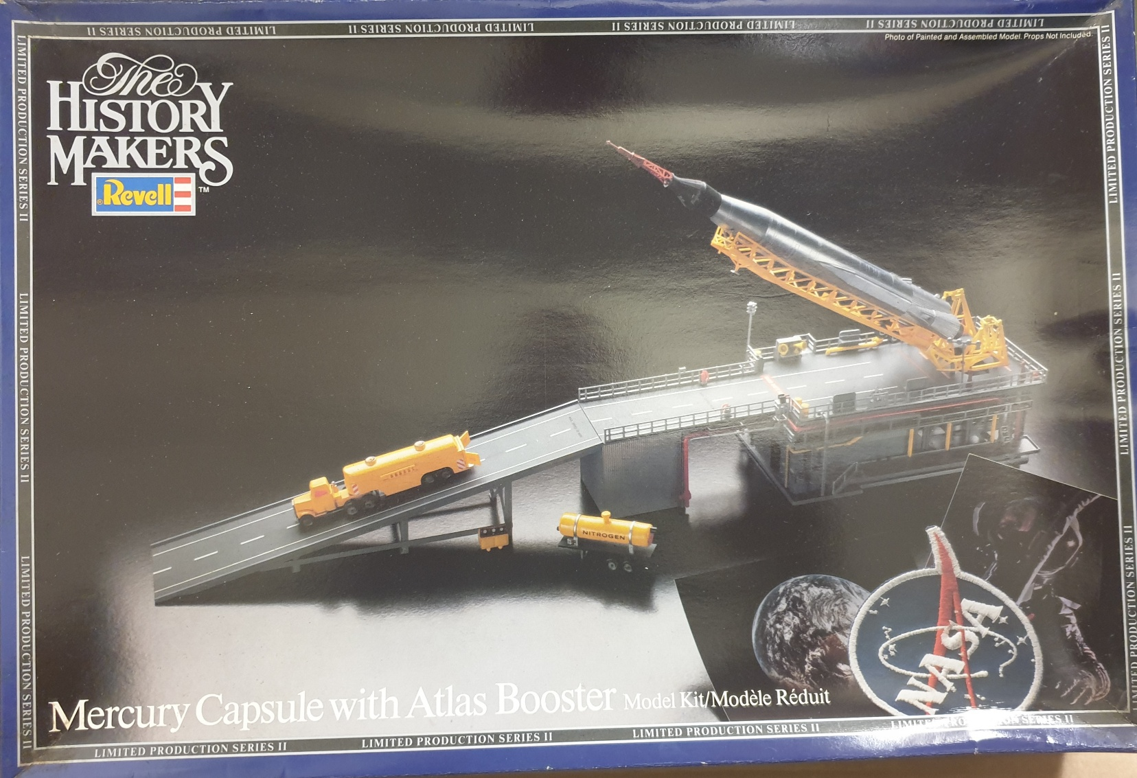Revell 8647 Mercury Capsule with Atlas Booster
