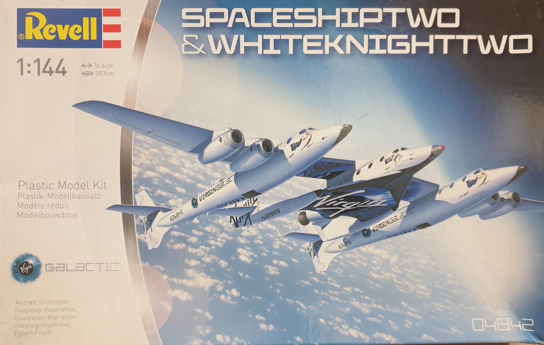 Revell 04842 Spaceshiptwo & Whiteknighttwo