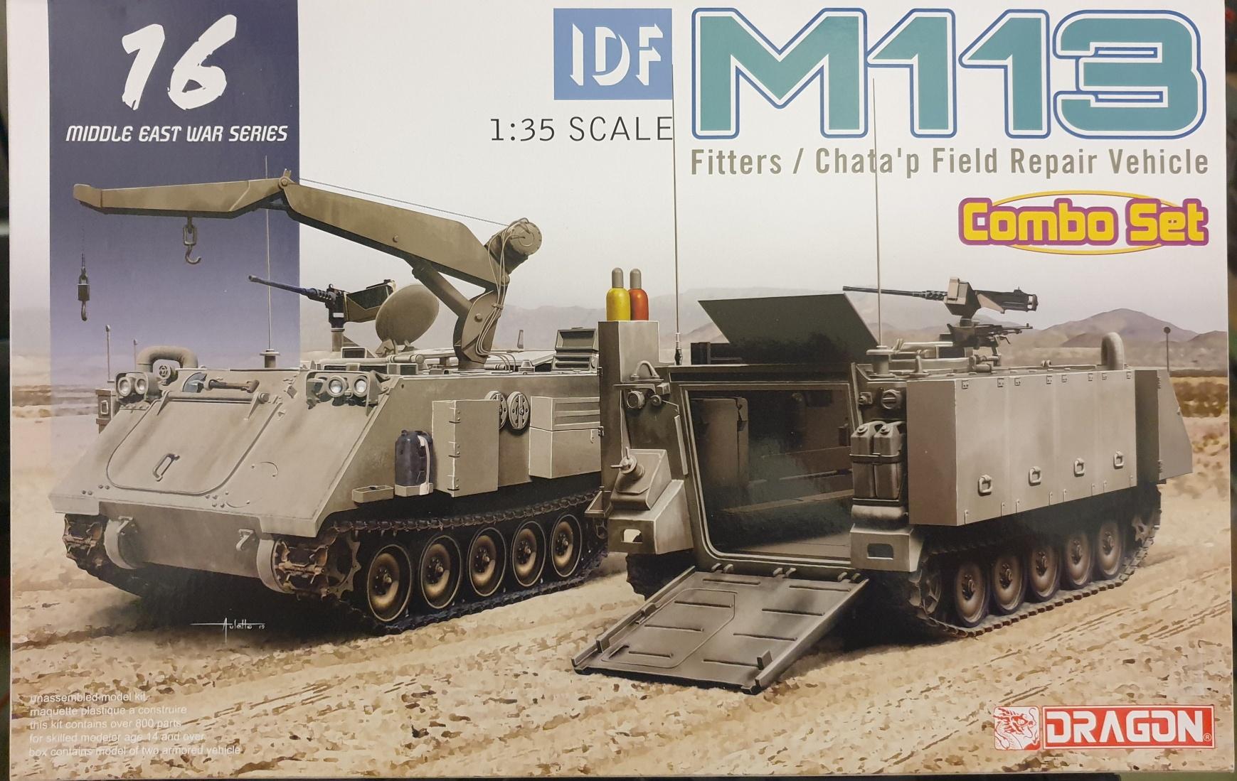 Dragon 3622 IDF M113 Fitters / Chata'p Field Repair Vehicle Combo Set 1/35