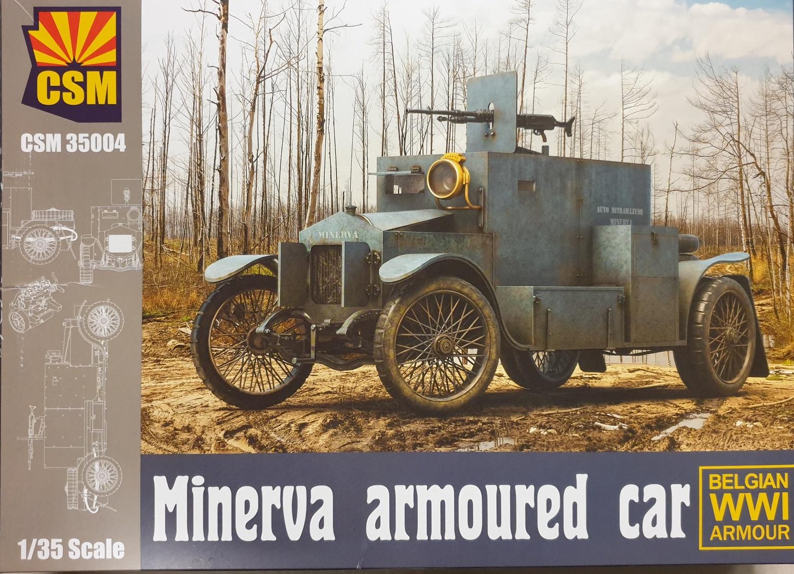Copper State Models CSM 35004 Minerva Armoured Car 1/35