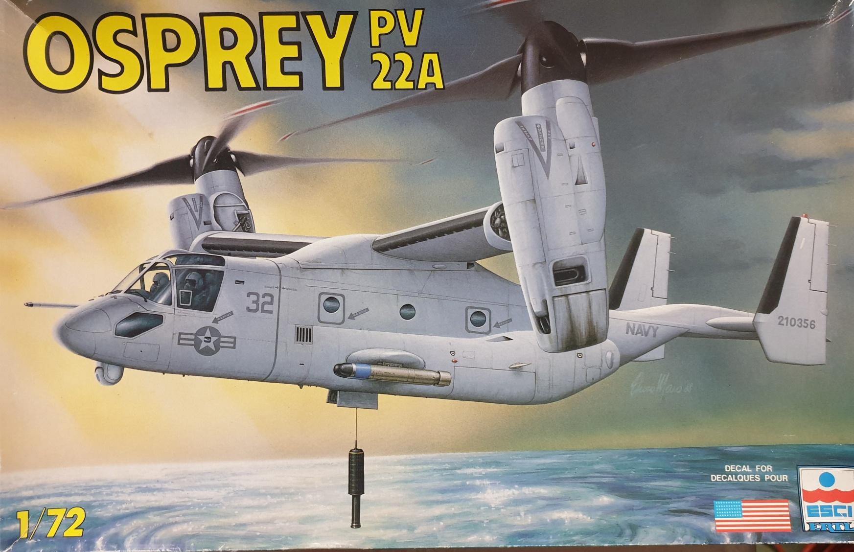 Esci 9084 PV 22A Osprey 1/72