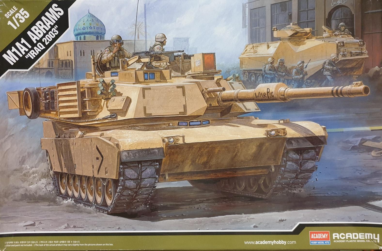 "Academy 13202 M1A1 Abrams ""Iraq 2003"" 1/35"