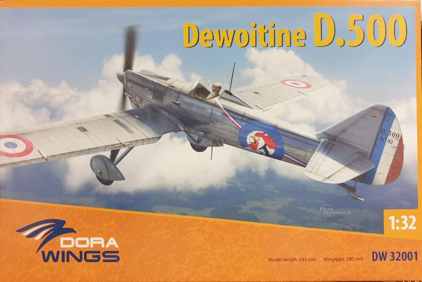 Dora Wings DW32001 Dewoitine D.500 1/32