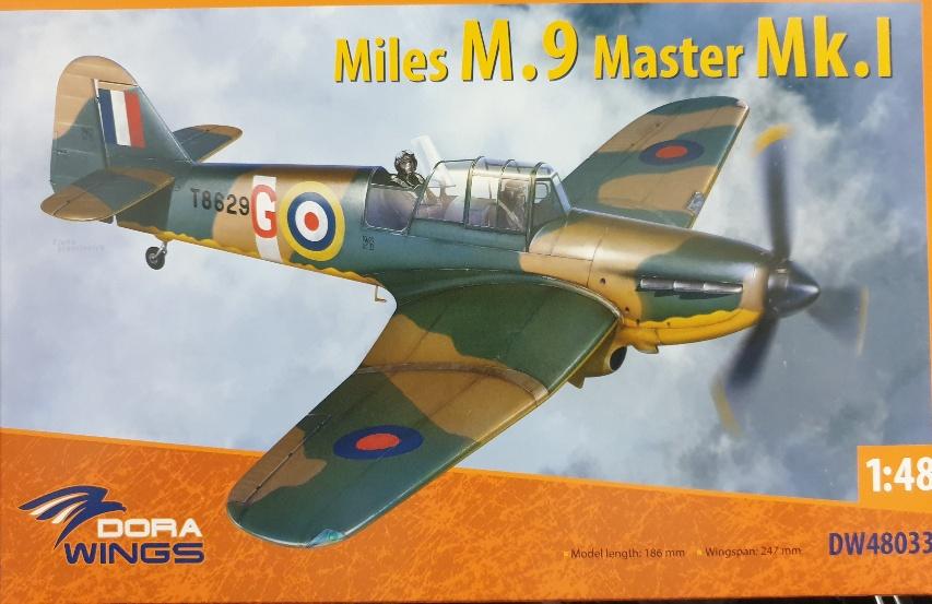 Dora Wings DW48033 Miles M.9 Master Mk.I 1/48