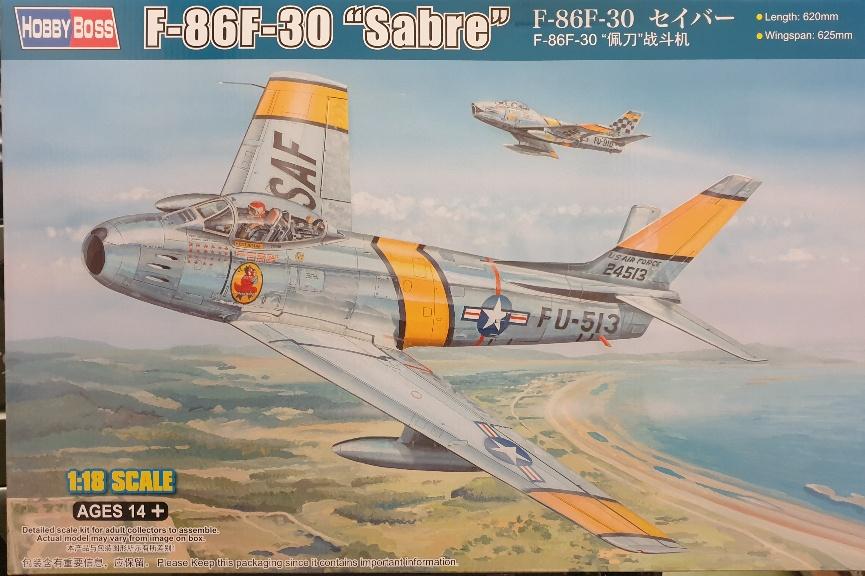 "Hobby Boss 81808 F-86F-30 ""Sabre"" 1/18"