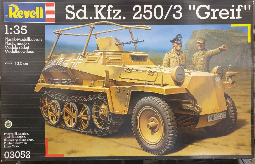 """Revell 03052 Sd.Kfz. 250/3 """"Greif"""" 1/35"""