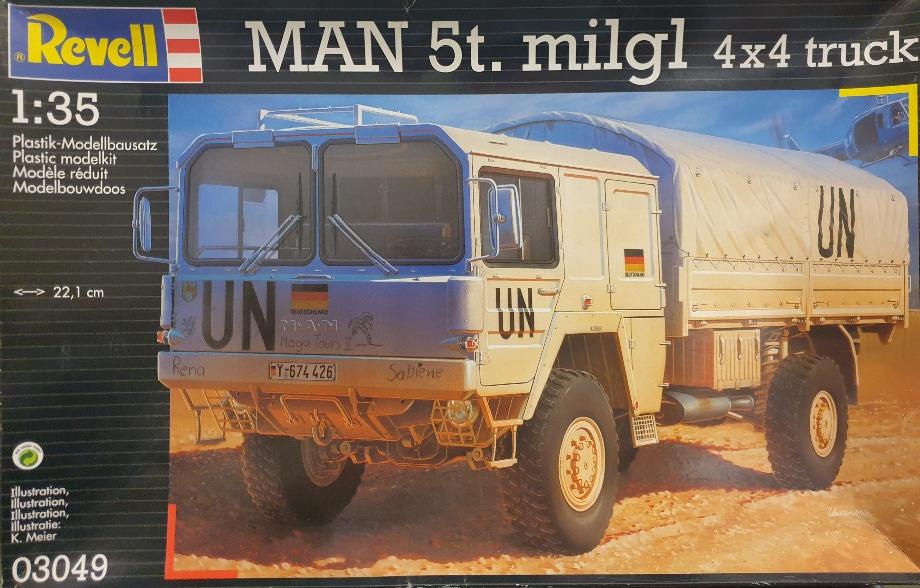 Revell 03049 MAN 5t. milgl 4X4 Truck 1/35