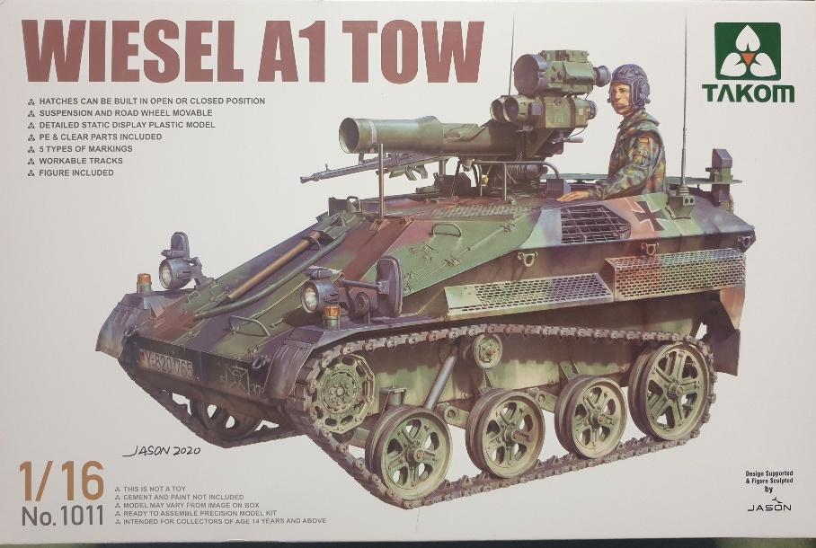 Takom 1011 Wiesel A1 TOW 1/16