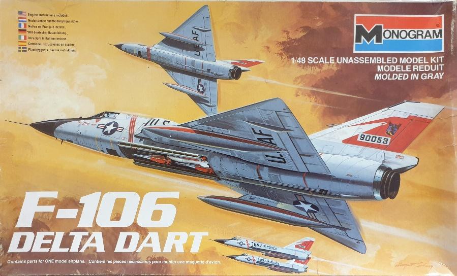 Monogram 5809 F-106 Delta Dart 1/48