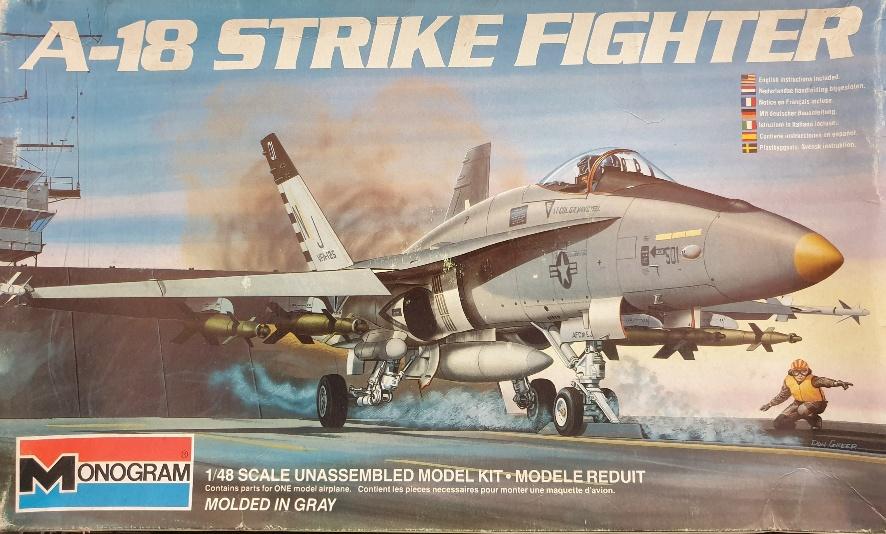Monogram 5807 A-18 Strike Fighter 1/48