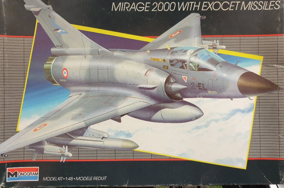 Monogram 5446 Mirage 2000 w/ Exocet Missiles 1/48