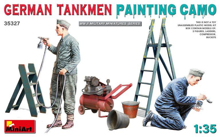 03 MiniArt 35327 German Tankmen Painting Camo 1/35