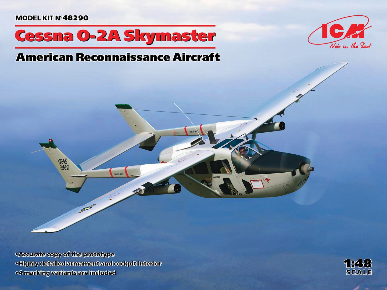 ICM 48209 Cessna O-2A Skymaster