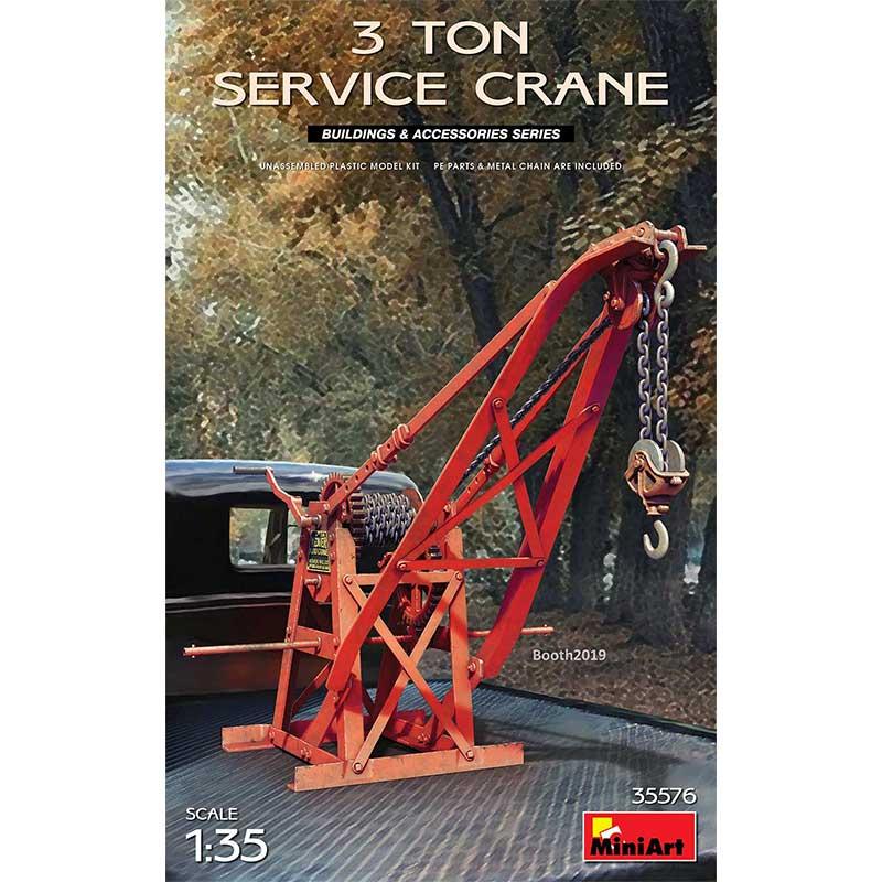 MiniArt 35576 3 Ton Service Crane